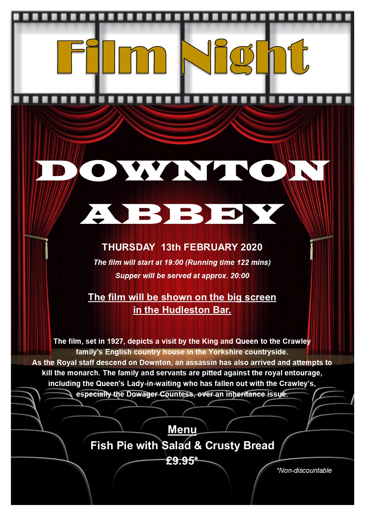 Film Night - 'Downton Abbey'