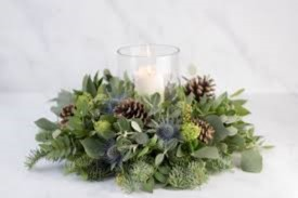 Christmas Flower Arrangement Workshop