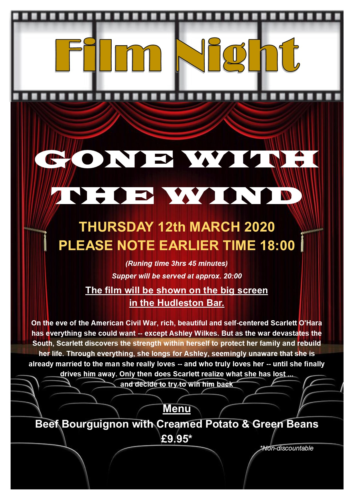 Film Night - Gone with the Wind