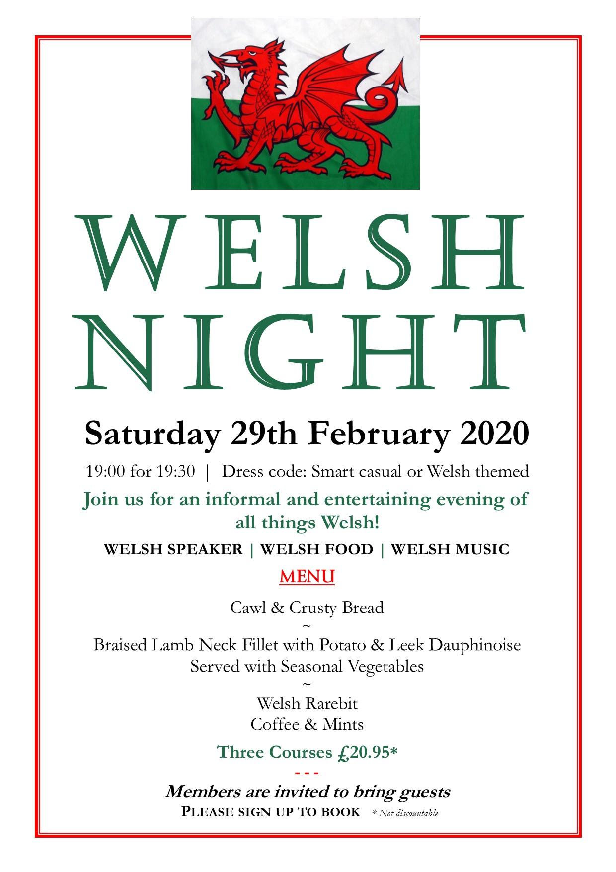Welsh Night